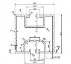 Profil Solar Aluminiu  40,5x40,5x1,65 PTW 002 - 1,008 kg/ ml 3100 mm/ bara