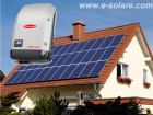Kit Fotovoltaic MF ** On-grid 2,8 Kwp - Fronius Galvo 2.5-1 ( 2500W)