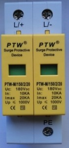 Descarcator supratensiune (arestor) PTW-M150/2/20