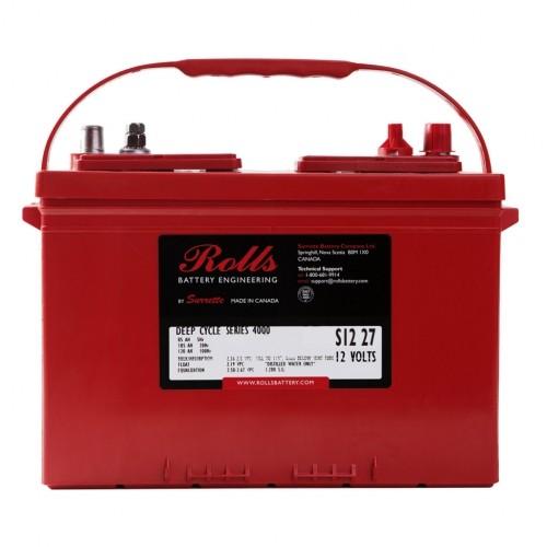 Battery Rolls Solar 4000 - S140 / S 12 27