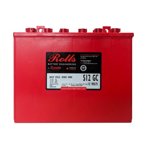 Battery Rolls Solar 4000 - S200 / S12 GC
