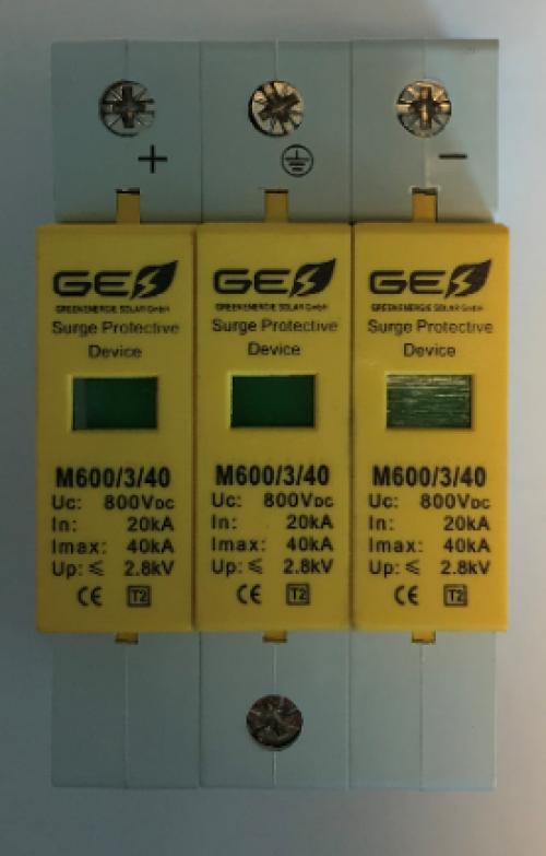 Descarcator supratensiune  GES-M 600/3P/40