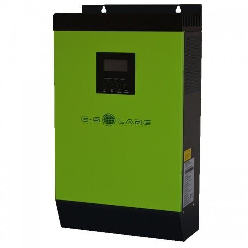 "Invertor-Charger Hibrid ""E-SOLARE"" 5KVA - 48V (+60A MPPT - max 3000 Wp - 60/72 cells - racire radiator)"