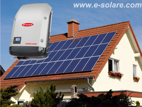 Kit Fotovoltaic MF ** On-grid 3,1 Kwp - Fronius Galvo 3.0-1 ( 3000W)