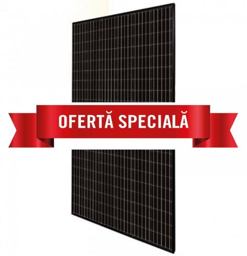 Panouri Monocristaline JA Solar 325W 0,29 euro/Watt Half Cells Full Black (31 buc/palet)